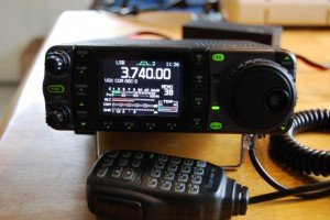 Icom IC-7000, se www.dx-radio.se
